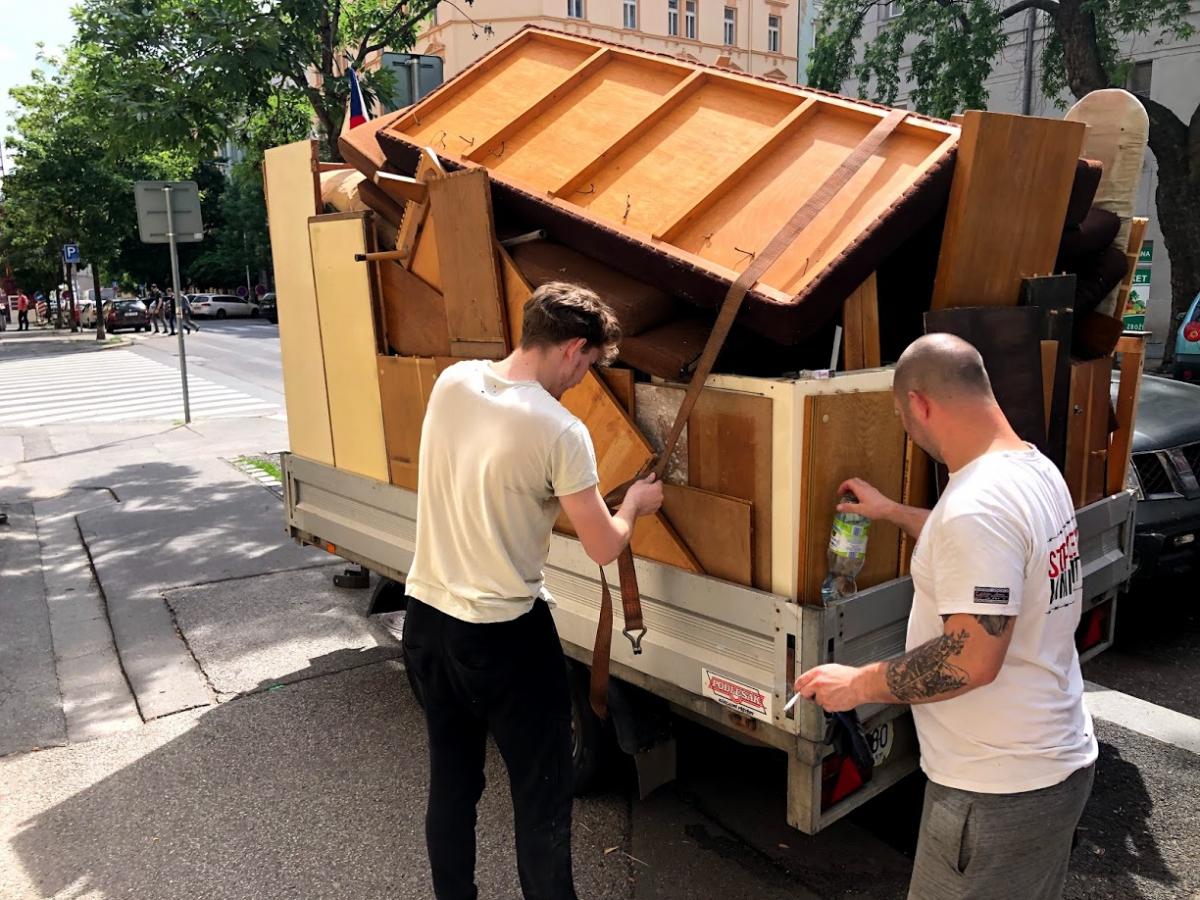 Odvoz a likvidace odpadu